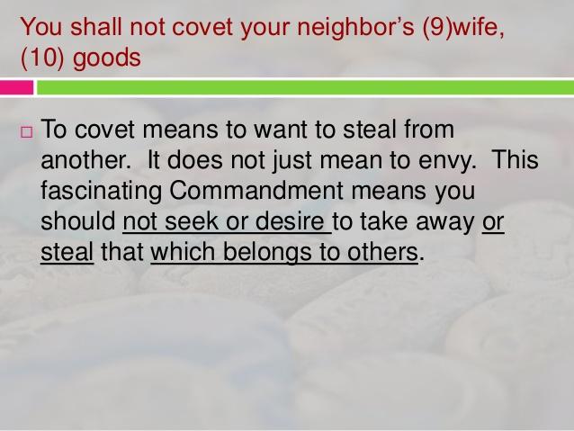 10 commandments importance