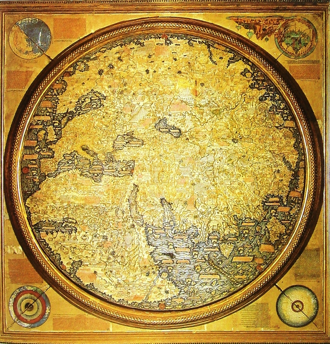 Oldest Known World Map.World Map 15th Century Ronaldwederfoort