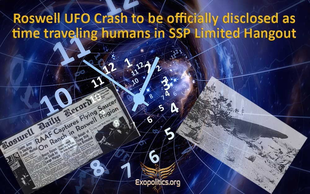 Roswell UFO Crash to be officially disclosed as time-traveling futurehumans
